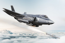 F35 Advanced Military Aircraft...