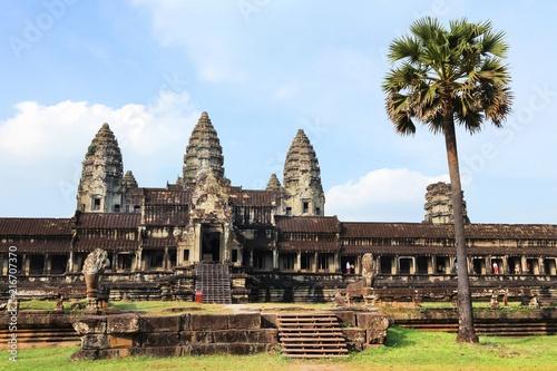 Foto op Plexiglas Asia land Angkor Wat