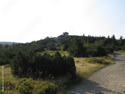 Fotobehang Grijs mountains