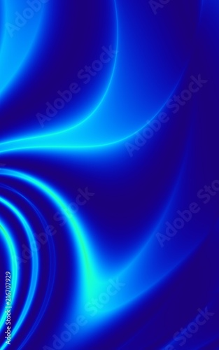Neon Texture Background Blue Wavy Curve Wallpaper Buy This