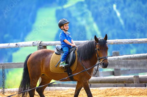 Poster Equitation Jung Pferde