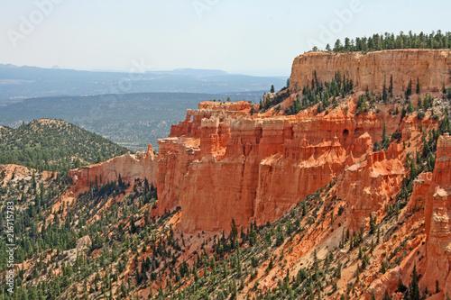 Spoed Foto op Canvas Khaki Landscape in Bryce Canyon NP, Utah