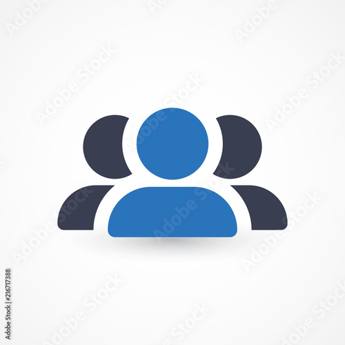 Group Of People Sign Icon User Group Network Ui Website Navigation Social Network Icons Group Of Friends Corporate Team Group Leader Icon Community Icon Multiple Users Silhouette Buy This Stock Vector