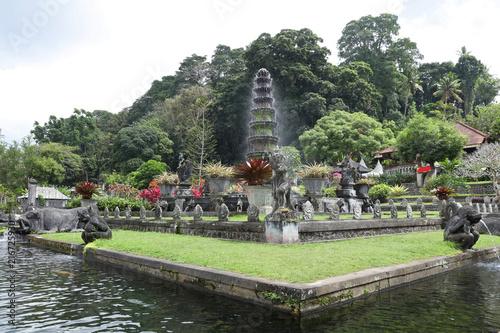 Foto op Plexiglas Asia land Hindu Temple Tirta Gangga. Bali, Indonesia.