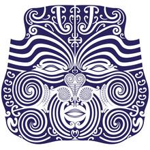 Maori Traditional Mask