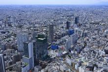 渋谷周辺/空撮