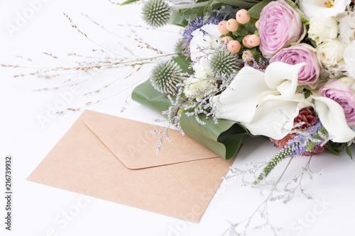 Canvas 花束と手紙