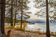 First Storm of Autumn Descends on Lake Tahoe, California