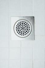 Shower Floor Drain In A Bathroom
