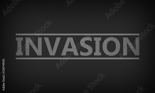 Obraz na plátně Invasion