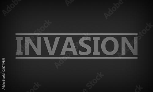 Invasion Fototapete