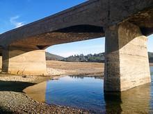 Folsom Lake Underwater Bridge