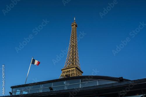 Deurstickers Eiffeltoren The Eiffel Tower