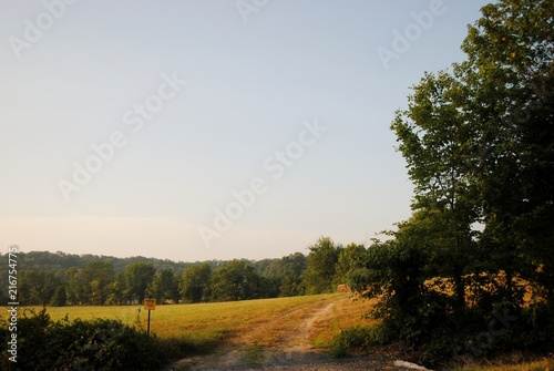Staande foto Zwart Country Ride 4