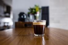 Cup Of Fresh Espresso Coffee O...