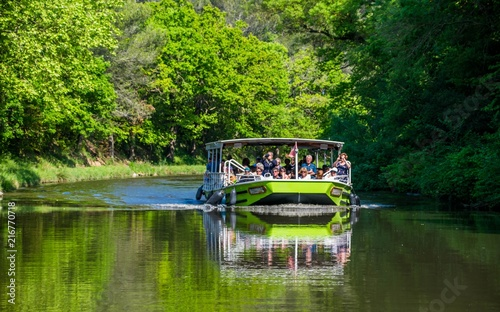 Fotografia  Canal du midi, France;