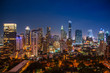 Cityscape Bangkok city of Thailand, Bangkok city central business downtown.