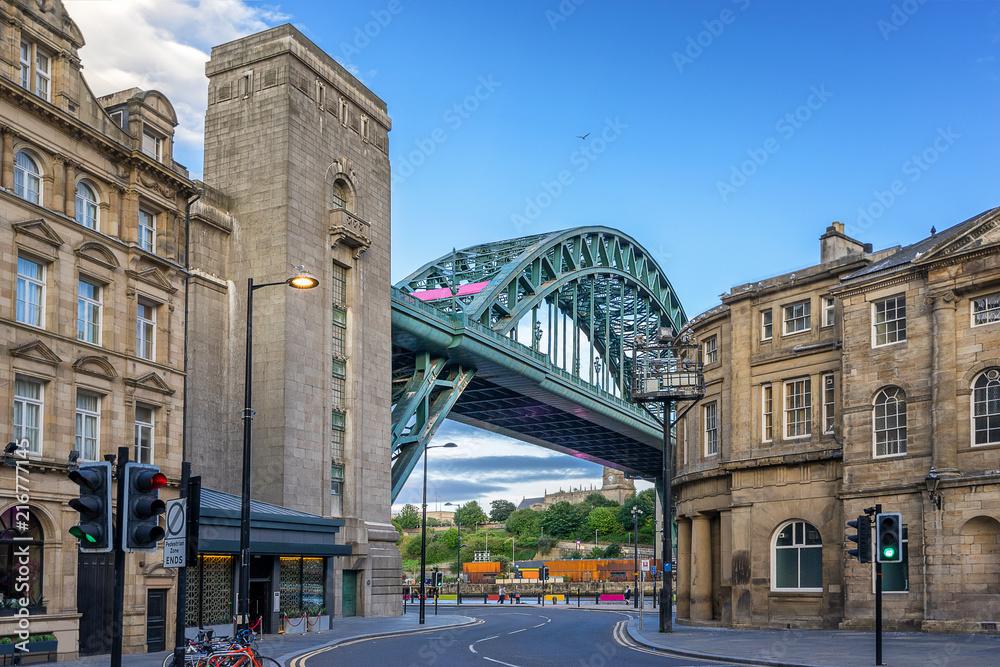 Fototapety, obrazy: The Tyne Bridge across the river Tyne in Newcastle