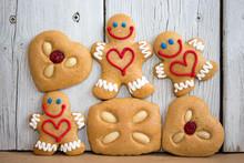Lustige Lebkuchen Zu Weihnachten