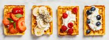 Traditional Belgian Waffles Wi...