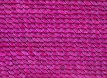 Texture Of A Red Wicker Basket