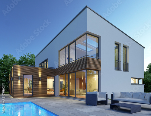 Haus Mit Pultdach P2 Buy This Stock Illustration And Explore