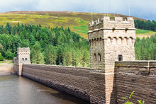 View Of Derwent Dam And Reserv...