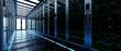 Leinwandbild Motiv Backup cloud data service center. 3D rendering