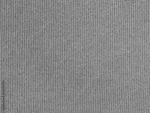 Fotobehang Stof Gray fabric texture