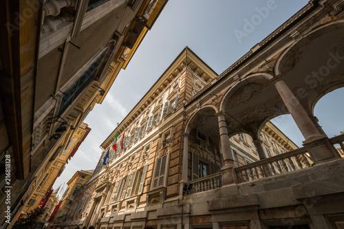 Fotografija  Palazzo Niccolò Grimaldi detto Palazzo Doria-Tursi, il Sistema dei Palazzi dei R