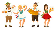People In Traditional German, ...