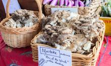 Maitake Mushroom Sold At Farmer's Market