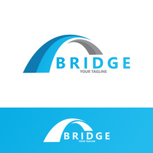 Creative Abstract Bridge Logo ...