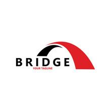 Creative Abstract Bridge Logo ...