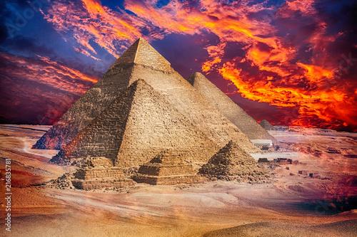 Egypt Cairo - Giza Wallpaper Mural