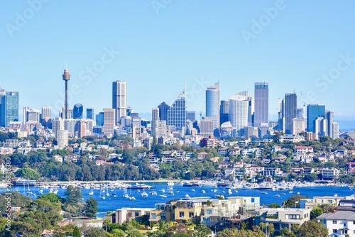 Foto op Aluminium Oceanië Scenery of Modern Skylines in Downtown Sydney