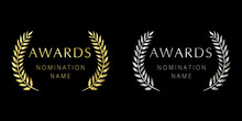 Awards Logotype Set. Isolated ...