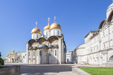 Cathedral Of The Archangel In Moscow Kremlin, Russia