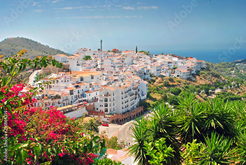 Frigiliana Andalusia Costa del Sol Spain Wallpaper Mural
