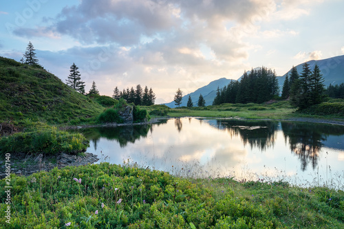 Spoed Foto op Canvas Alpen Grindelwald First – Top of Adventure