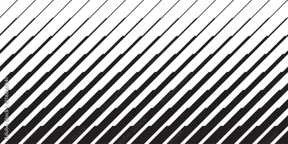 Fototapeta Geometric degrade lines gradient motif