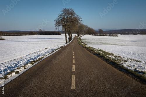 Photo Route et neige