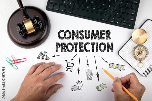 Fotografía  consumer protection, Law and justice concept