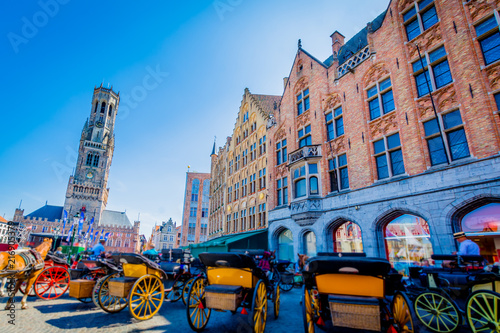 Poster Bridges Brugge - Belgium