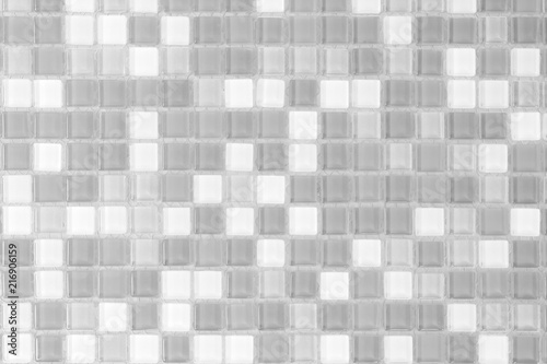 White And Grey Tile Wall High Resolution Real Photo Or Brick Seamless And Texture Interior Background Building S Facade Mosaic Decorative Bathroom Or Kitchen Modern Buy This Stock Photo And Explore Similar