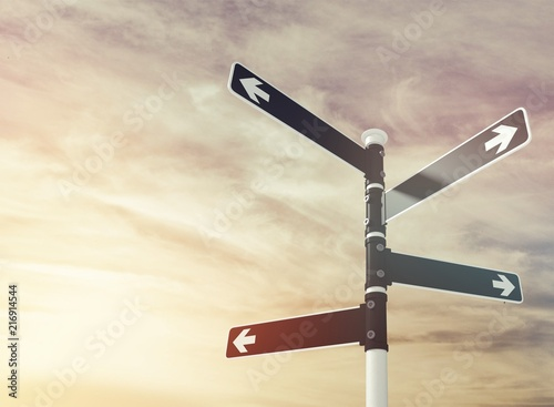 Photo  Signpost.