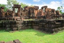 Ku Ka Sing, Ancient Public Castle Rock Temple, Landmark Place Of Worship In Kasetwisai, Roi Et ,Thailand