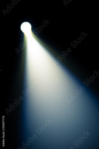 Abstract light effect background Canvas Print