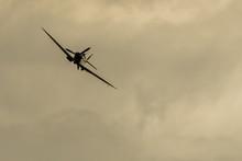 Spitfire Flying Towards The Camera