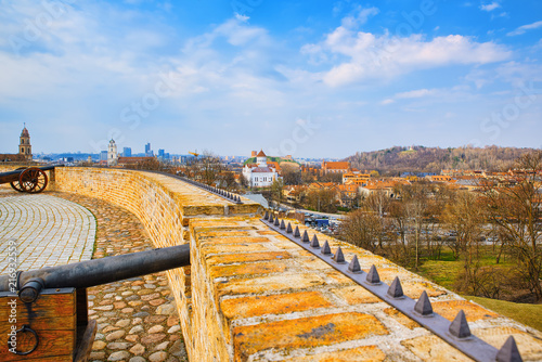 Foto Bastion of the Vilnius City Wall. Lithuania.